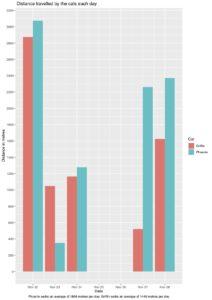 Distance bar chart